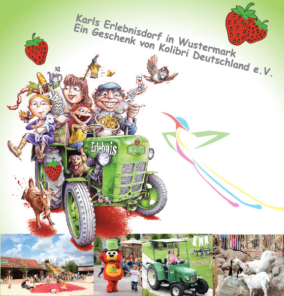 Ausflug in Karls Erlebnisdorf!