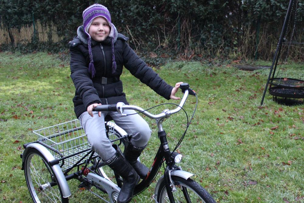 Antonias neues Fahrrad