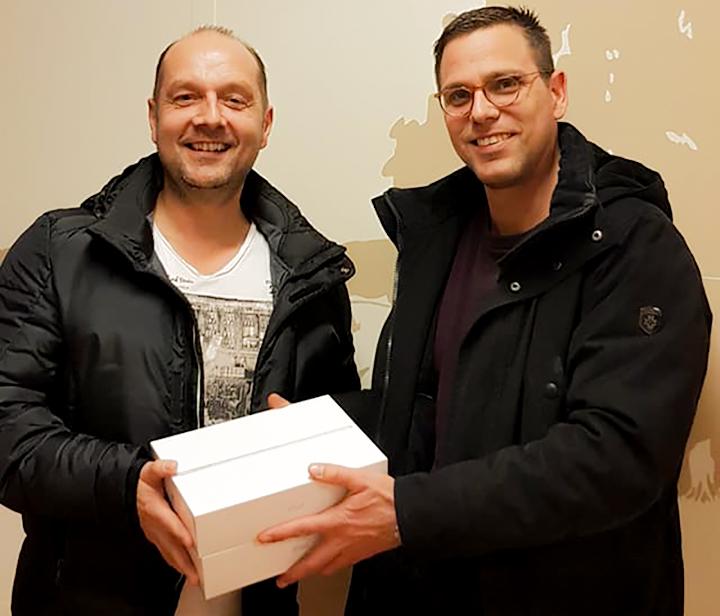 Firma S.Schmidt & W. Schmidt GmbH spendiert Tablets