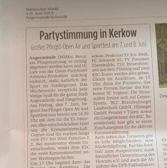 Kerkower Sportfest
