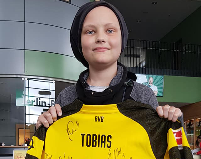Freude für Tobias