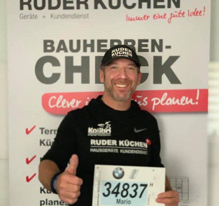 Mario Ruder rennt für unsere Trauergruppe