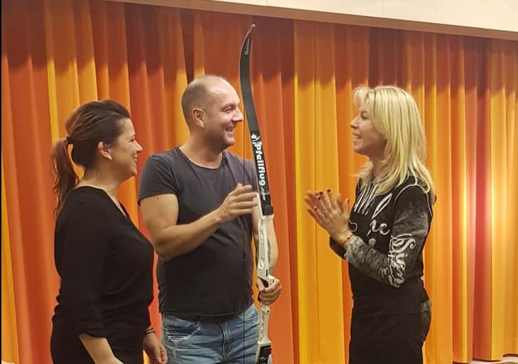 Bogenshießen mit Annette Tunn