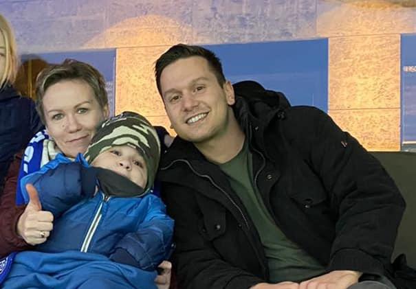 Maciej bei Hertha
