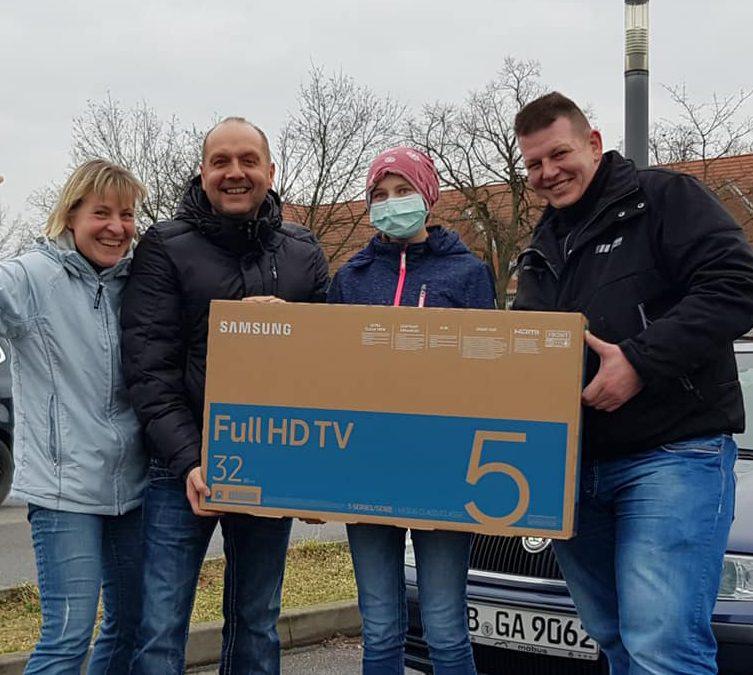 Fernseher für Anna