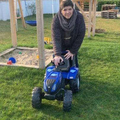 Traktor Führerschein für die Kinder im Familienzentrum Oderberg