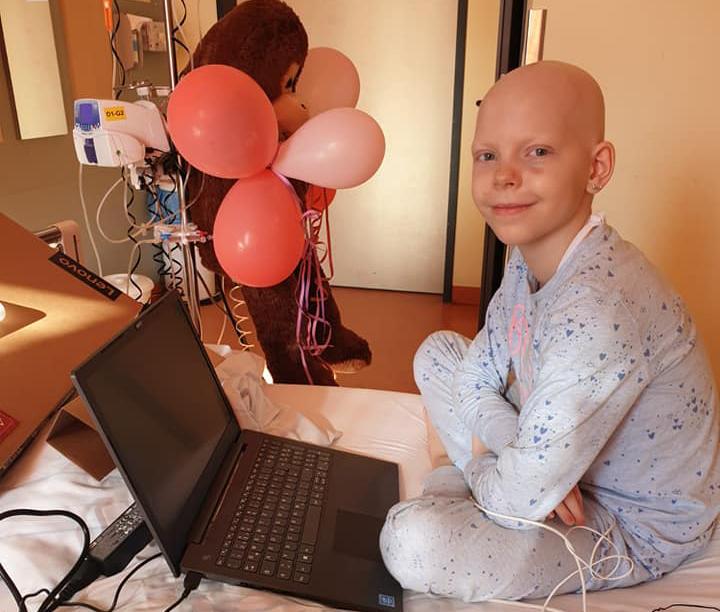 Ein Laptop für Stella