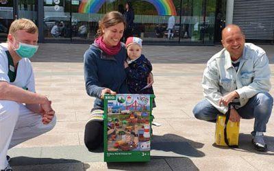 Eine Spielzeugeisenbahn für Paula