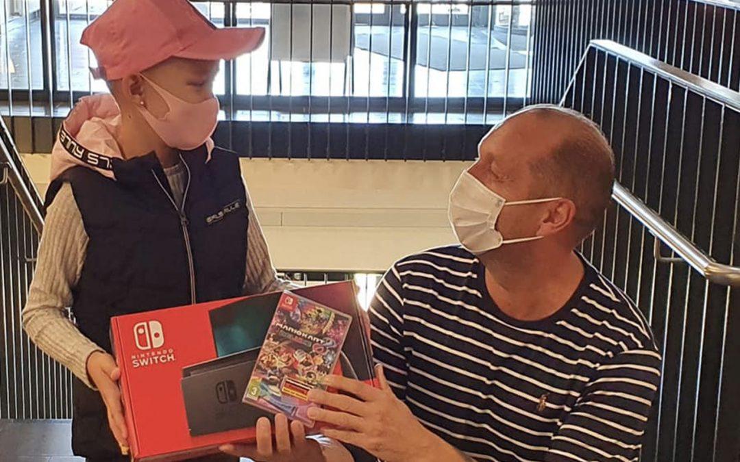 Eine Nintendo Switch für Emma