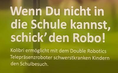 """Neue Unterstützer für das """"Double Robotics"""" -Projekt"""