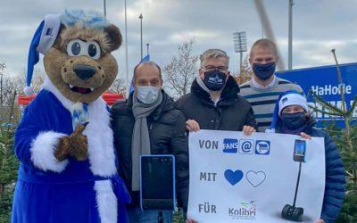 Neuer Lernroboter durch die Hilfe von Hertha BSC