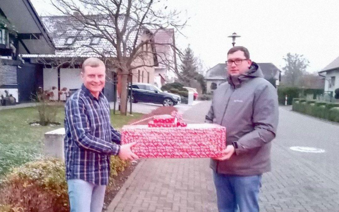 Ein Artikel über unsere Weihnachtswunsch-Aktion