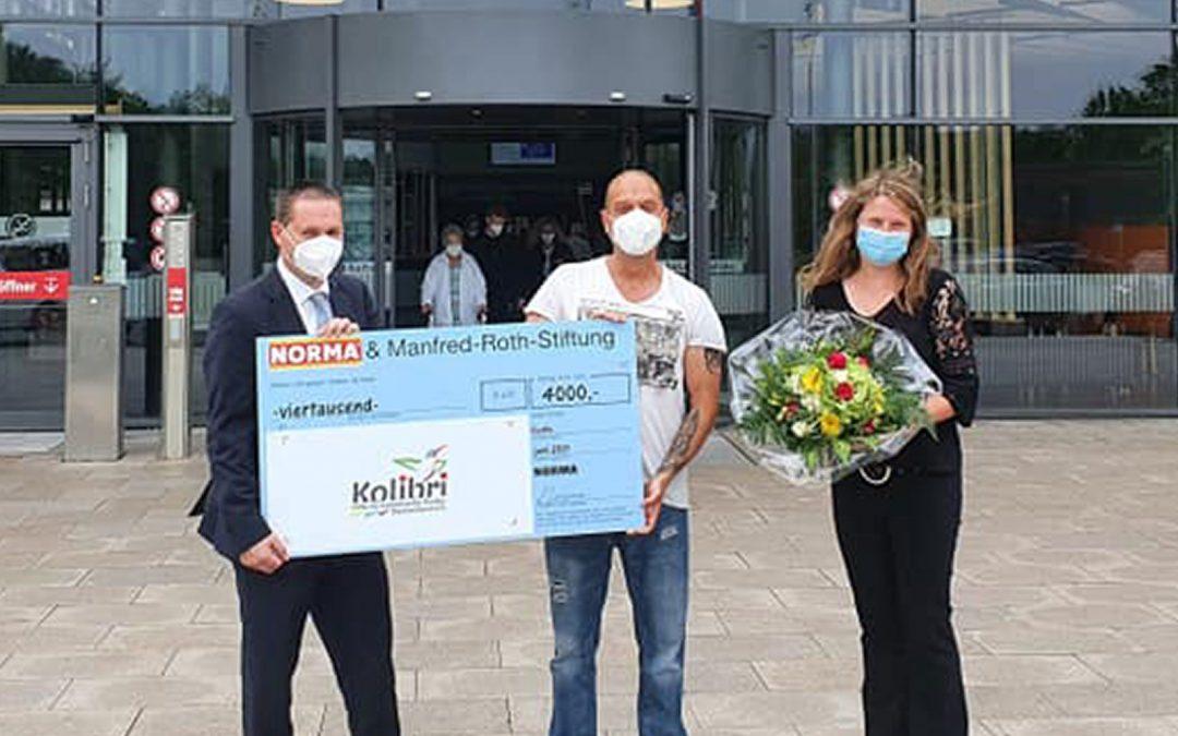 Große Unterstützung von der Manfred Roth Stiftung!