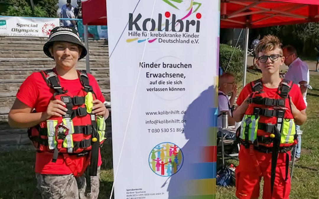 Kolibri wird bei der Special Olympics Regatta eingeladen