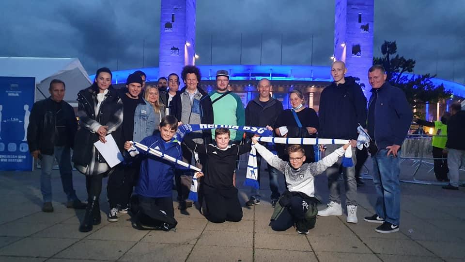 Helios Klinikum und Kolibri Hilft beim Hertha BSC Spiel