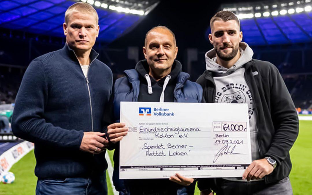 Großzügige Spende des Vereins Hertha BSC