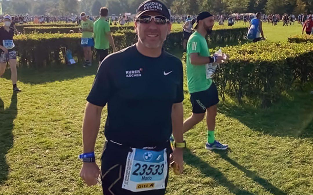 Berlin Marathon: Mario und Gino laufen für Kolibri