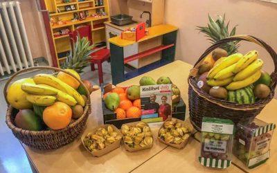 Frische Früchte für die Kinder